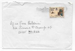 VATICANO - ANNULLO A TARGHETTA 30.09.1981 - Vaticano