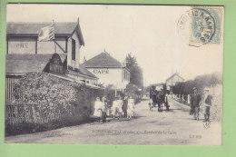 PORNICHET : Avenue De La Gare, Café, Buvette. TBE. 2 Scans. Edition Dugas - Pornichet