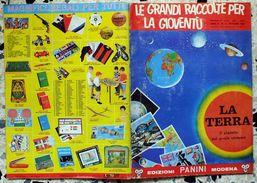 B178> Album Di FIGURINE PANINI < LA TERRA > Le Grandi Raccolte Della Gioventù - 1966 - Altri