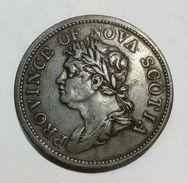CANADA - PROVINCE Of NOVA SCOTIA - One Penny (1824) - Bank Token - Monetari / Di Necessità