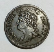 CANADA - PROVINCE Of NOVA SCOTIA - One Penny (1824) - Bank Token - Monetary /of Necessity