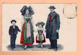 Cpa  Cartes Postales Ancienne - Souvenir D Alsace - Alsace
