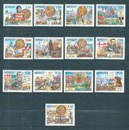 Monaco Timbres  De 1997  N°2089 A 2101 Série Complète  Neufs ** Parfait  Cote 37€ - Monaco