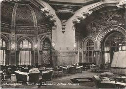 X77 Salsomaggiore Terme (Parma) - Hotel Des Thermes - Salone Moresco / Viaggiata 1954 - Otras Ciudades
