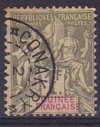 Guinée, Yvert N° 13 Oblitéré - Cote 42 € - Guinée Française (1892-1944)
