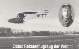 Erster Raketenflug Der Welt.-Flugtage Feldberg 1992 - Feldberg
