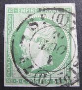 LOT R1576/15 - NAPOLEON III N°12 - CàD DISTRIBUTION (D) - Cote : 90,00 € - 1853-1860 Napoleon III