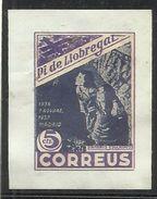 SPAIN ESPAÑA SPAGNA 1936 1937 Viñeta Local PI DE LLOBREGAT (Barcelona) 5 Cts. INFANTS ESGLATATS Madrid MNH - Vignette Della Guerra Civile