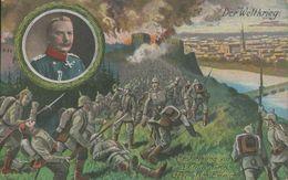 General Von Emmich, Erstürmung Von Lüttich, Feldpostkarte, Militär, Deutsches Reich, Weltkrieg - Oorlog 1914-18