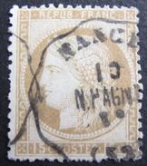 LOT R1576/25 - CERES N°55 - CACHET CONVOYEUR STATION De NANCY - 1871-1875 Ceres