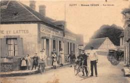 28 - EURE ET LOIR / Blévy - 28973 - Maison Téton - Rue Grande - Beau Cliché Animé - Défaut - Francia
