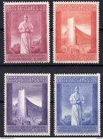 Vaticano 0257/260 ** MNH. 1958 - Vaticano (Ciudad Del)