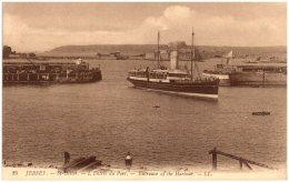 JERSEY - SAINT-HELIER - L'entrée Du Port    (Recto/Verso) - Jersey