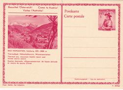 E.P. Autriche - BAD HOFGASTEIN, Salzburg, 870-2000m  - N°3 - Etat Neuf - Entiers Postaux