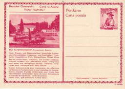 E.P. Autriche - BAD TATZMANNSDORF, Burgenland, Austria - N°4 - Etat Neuf - Entiers Postaux