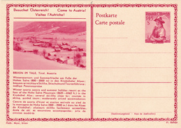 E.P. Autriche - BRIXEN IM TALE, Tirol, Austria - N°6 - Etat Neuf - Entiers Postaux