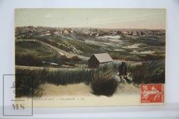 Old Postcard France -  Berck Plage - Vue Generale - Posted - Berck