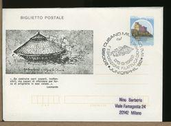 ITALIA - BP - LEONARDO DA VINCI - CARRO COPERTO ARMATO - Famous People