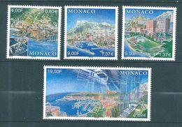 Monaco Timbres  De 1999  N°2221 A 2224   Neufs ** Parfait Vendu A La Valeur Faciale - Neufs
