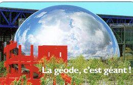 Carte D'entrée Plastifiée à La Géode, Cité Des Sciences, Paris 26/04/1995 - Biglietti D'ingresso