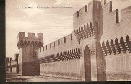K2. France Vaucluse AVIGNON Les Remparts Boulevard St- Michel Unposted  Postcard - Avignon (Palais & Pont)