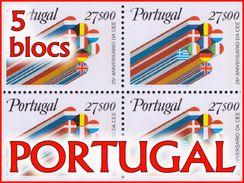 Portugal BL Petit LOT** Cote 44 Euro 5 Images ( Br _lo ) - Blocs-feuillets
