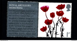 GREAT BRITAIN - 2006  1st  CLASS POPPIES  LITHO   EX SMILERS   MINT NH - 1952-.... (Elisabetta II)