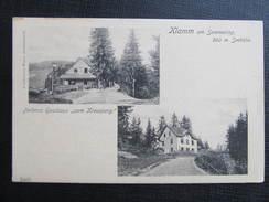 AK KLAMM Am Semmering Gasthaus Zum Kreuzberg 1910 /// D*27615 - Semmering