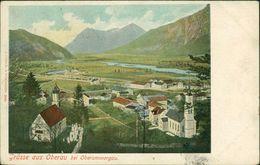 AK Oberau Bei Oberammergau, Gesamtansicht, O 1900 (21174) - Andere