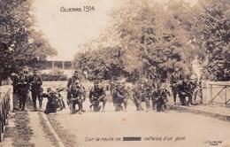 Ww1 Guerre De 1914 Sur La Route Defense D Un Pont Infanterie A Velo - Guerre 1914-18