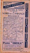 Guide THIOLIER , Vintage Des Années 1930, Nord De La France /belgique    TB - Folletos Turísticos