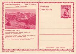 E.P. Autriche - TANNHEIM, Tirol, 1100m.  - N°33 - Etat Neuf - Stamped Stationery