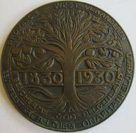 M05278  PROVINCE WEST-VLAANDEREN  1830-1930 (82g)  Blason Au Revers - Professionnels / De Société
