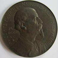 M05297  COMTE MARVIN DE NAHUYS - Son Buste  (90g) Allégories Au Revers - Royal / Of Nobility