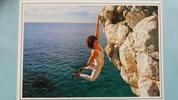 CPM ESCALADE FEMININE CATHERINE DESTIVELLE PHOTO B GIANI ED DAMILLA - Escalade