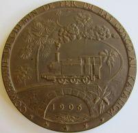 M05302 CONGO BELGE - COMPAGNIE DU CHEMIN DE FER DU BAS CONGO AU KATANGA BCK - 1906-1956 (222g) - Professionnels / De Société