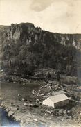 CPA - Environs De MUNSTER (68) - Carte Photo - Aspect De La Ferme-Auberge Du Frankental En 1928 - Autres Communes