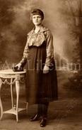Photo Ancien / Unused / Femme / Woman / Foto / J. Vander Heyden / Antwerpen / Marie De Rijcke - Personnes Identifiées