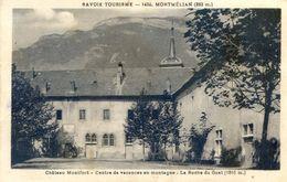 73 - Montmélian -  Chateau Montfort - Centre De Vacances En Montagne - La Roche Du Guet - Montmelian