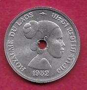 Laos - 10 Cents -1952 - Laos
