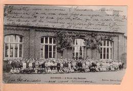 Cpa  Cartes Postales Ancienne - Dourges Ecole Des Garcons - Altri Comuni