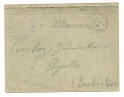 LETTRE DE 1915 DE SP 156 A PEYROLLES / TRESOR ET POSTES 156 / 101 EME REGIMENT TERRITORAIL D'INFANTERIE CPA1025 - Marcophilie (Lettres)