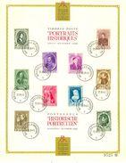 Belg. 1941 - 573/82 Europese Vorsten / Princes Européens  Bruxelles/Brussel 25-08-1941 (2 Scans) - ....-1951