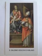 D954- Santino San Galdino Vescovo - Images Religieuses