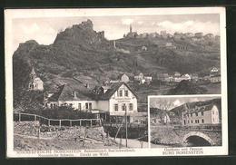 """AK Hohenstein / Nassau, Gasthof Und Pension """"Burg Hohenstein"""" - Zonder Classificatie"""