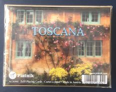 Toscana, Playing Cards, Piatnik, Austria, New, Sealed, 2 Decks - Playing Cards (classic)