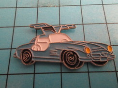 Pin811a Pin's Pins : Rare Et Belle Qualité : AUTOMOBILES / MERCEDES BLEUE ANNEES 50 PORTIERES PAPILLON - Mercedes