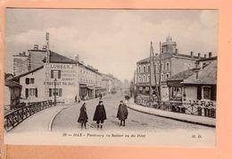 Cpa  Cartes Postales Ancienne - Dax Faubourg Du Sablar 28 - Dax