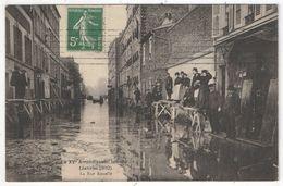 75 - PARIS 15 - Le XVe Inondé (Janvier 1910) - La Rue Rouelle - Richer - Paris (15)