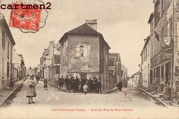 CARRIERES SOUS POISSY RUE CARNOT GRANDE RUE 78 - Carrieres Sous Poissy